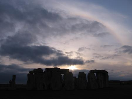 Halo on Stonehenge